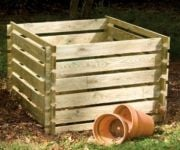 Wooden Composter: Large 893 Litres by Lacewing�